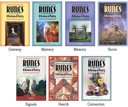& RUNES book covers
