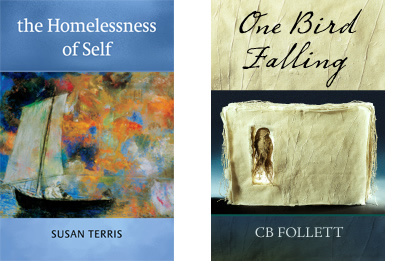 New books by Susan Terris and CB Follett