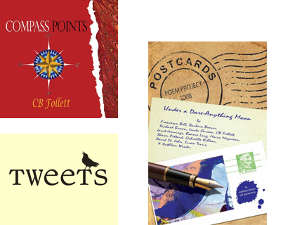 Tweets and Postcards chapbooks
